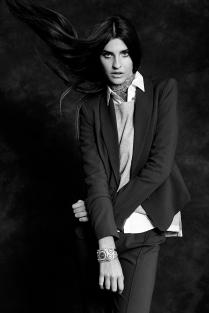 FOTOGRAFIA: JOSE MORAGA PRODUCCION: MARIA PAZ JIMENEZ MAKE UP / HAIR: MARCELO BHANU PARA DIOR MODELO: GABY FUENTES -ELITE-