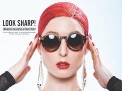 LOOK SHARP! FRANCISCA VALENZUELA PARA FOSTER PRIMAVERA - VERANO 2013 / 2014 FOTOGRAFIA: SIMON PAIS ESTILISMO: FRANCISCA VALENZUELA MAQUILLAJE Y PELO: MARCELO BHANU