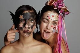 #SQUAD3 #KAWAIISQUAD FOTOGRAFIA: PATRICIO ROLDAN MAQUILLAJE Y PELO: MARCELO BHANU MODELO: CONI Y CATA -WLM-