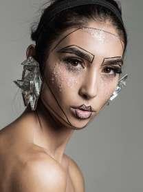 WORKSHOP MAKEUP EDITORIAL THE COLLECTIVE FOTOGRAFIA:JAIME ARRUA MAKEUP: VALENTINA DAVILA MODELO: WELOVEMODELS