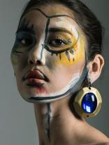 WORKSHOP MAKEUP EDITORIAL THE COLLECTIVE FOTOGRAFIA:JAIME ARRUA MAKEUP: CAMILA VIDAL MODELO: WELOVEMODELS