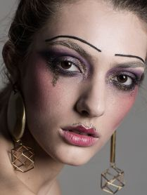 WORKSHOP MAKEUP EDITORIAL THE COLLECTIVE FOTOGRAFIA:JAIME ARRUA MAKEUP: MARIA MENDOZA MODELO: WELOVEMODELS