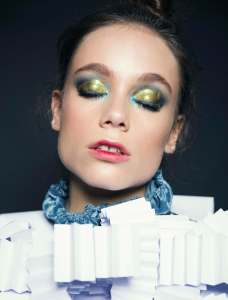 WORKSHOP MAKEUP EDITORIAL THE COLLECTIVE FOTOGRAFIA: MAX JORQUERA MAKEUP: NATALIA CAMPOS MODELO: AZUL -ELITE-