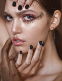 WORKSHOP MAKEUP EDITORIAL THE COLLECTIVE FOTOGRAFIA NOLI PROVOSTE MAKEUP: TAMARA VELASQUEZ MODELO: WELOVEMODELS