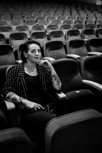 SHOW JANI DUEÑAS TEATRO NESCAFE DE LAS ARTES MARZO 2019 JANI DUEÑAS FOTOGRAFIA: SEBASTIAN UTRERAS